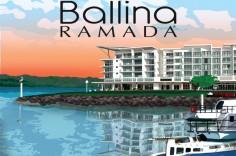 Ballina Ramada postcard
