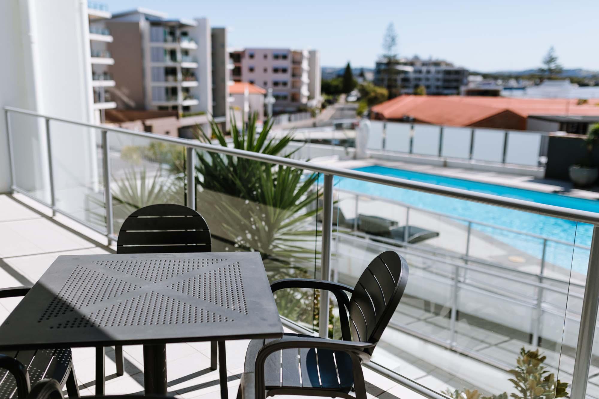 ramada hotel ballina swimming pool room suites